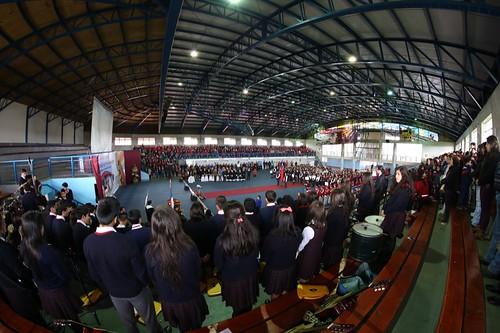 DIA2: INAUGURACIÓN, ENCUENTROS DEPORTIVOS Y DEL CONOCIMIENTO #OlimpiadasCPS #cpsPurranque2015