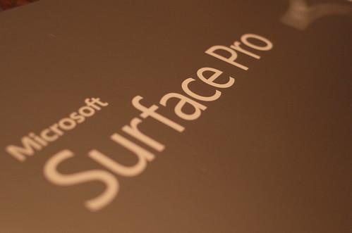 MS SurfacePro 3