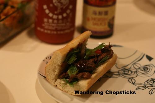 Banh Mi Pho Bo (Vietnamese Beef Noodle Soup-Spiced Sandwich) 8