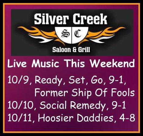 Silver Creek 10/9 thru 10/11/15