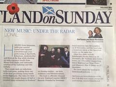 Scotland On Sunday, Lional