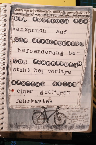 bicycle zine