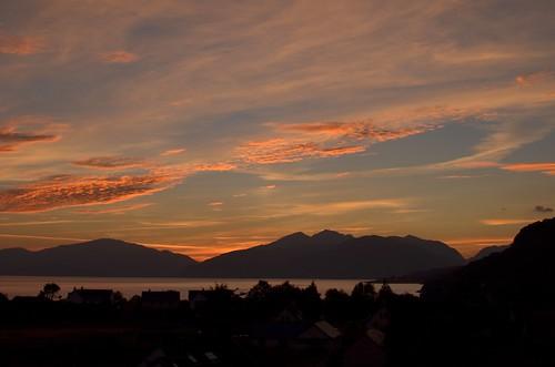 Another beautiful N. Ballachulish sunset