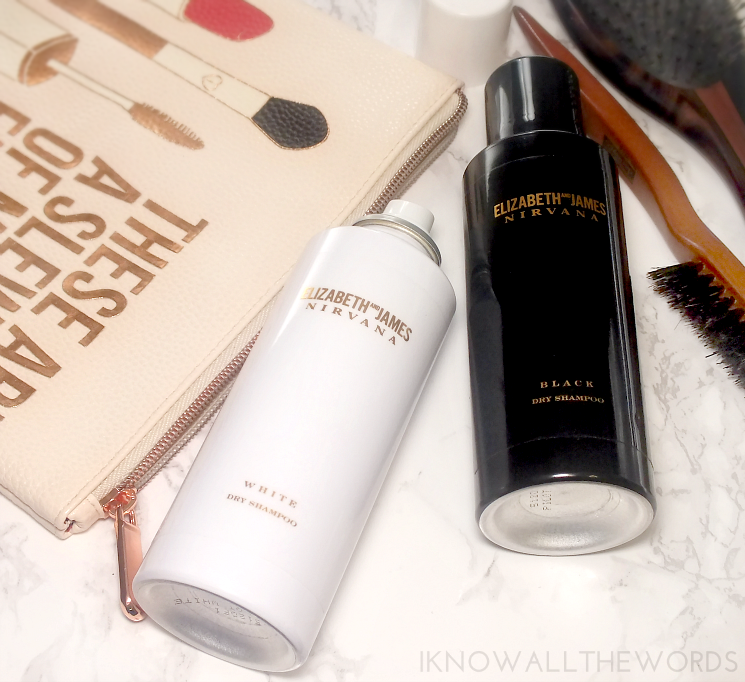 the dry clean elizabeth and james nirvana vlack and white dry shampoo