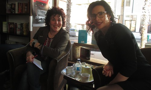 Ruby Wax and Rahla Xenopoulos