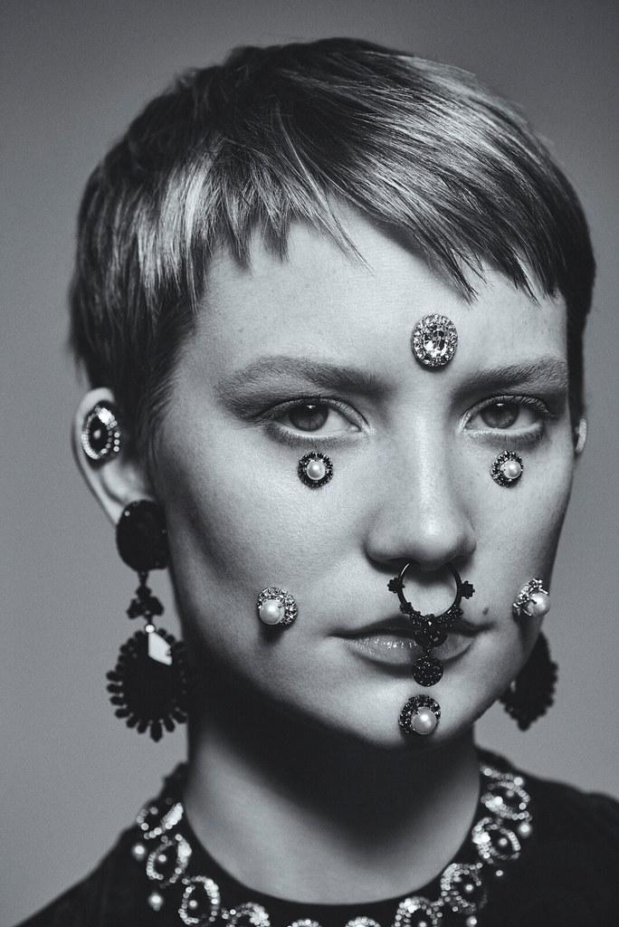 Миа Васиковска — Фотосессия для «Flaunt» 2015 – 14