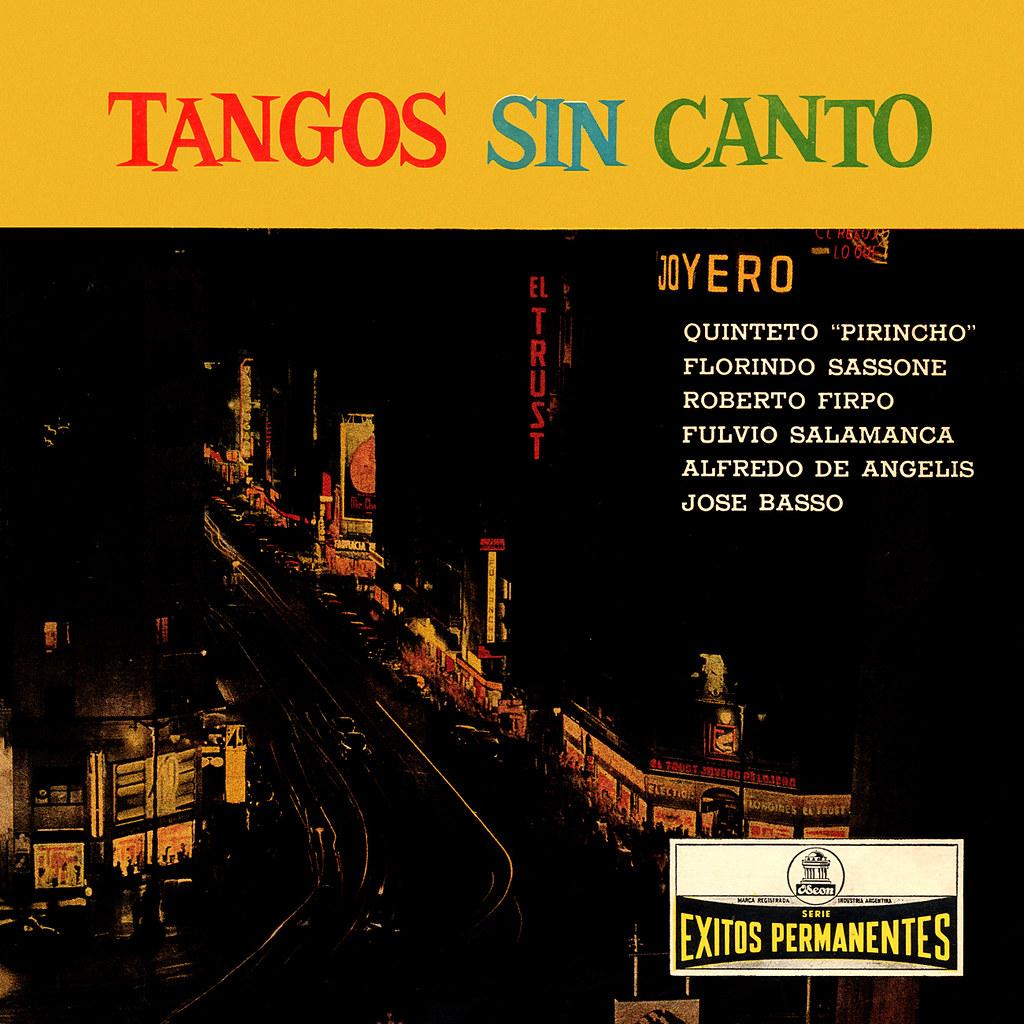 Various Artists - Tangos Sin Canto
