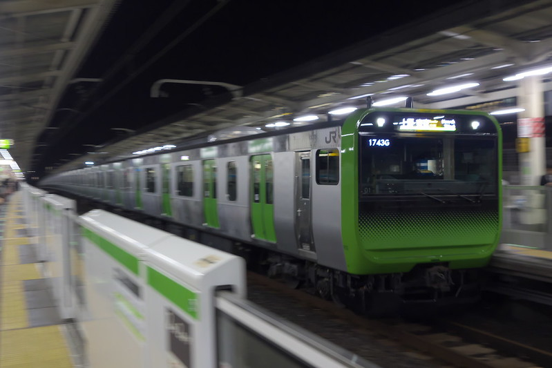 Tokyo Train Story 山手線 E235系 2015年11月30日