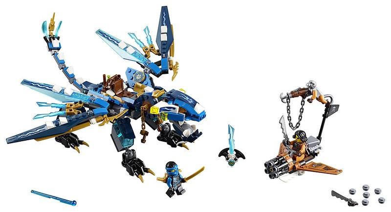 LEGO Ninjago 2016 | 70602 - Jay's Elemental Dragon