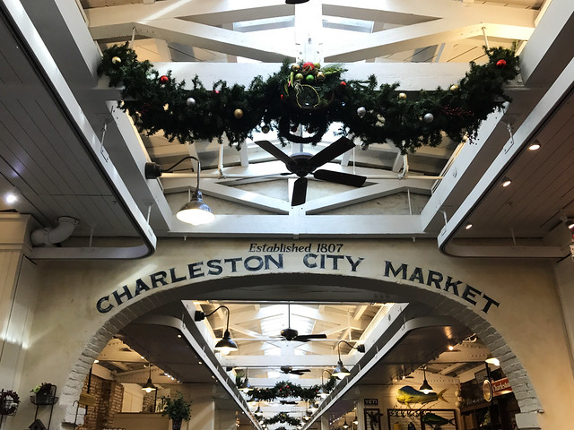 Charleston City Market sign