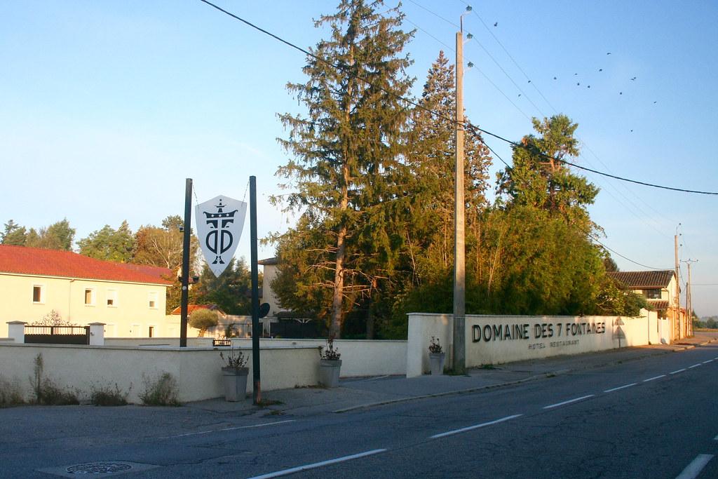 Hotell 7 fontäner nära Vienne