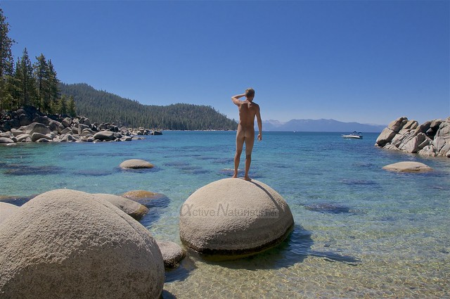 naturist 0003 Secret Cove, Lake Tahoe, Nevada, USA