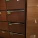 4 drwr filing cabinet teak €65