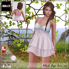 Hope dress rose
