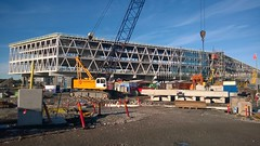 Värtahamnen re-construction