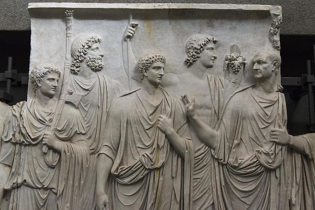 """""""Palazzo della Cancelleria Reliefs"""" IV – Frieze B"""