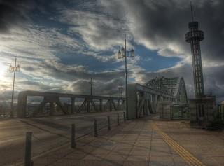 Asahibashi Bridge, Asahikawa on AUG 20, 2015 (15)