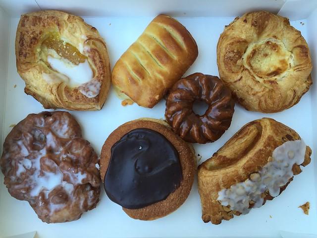 Assorted pastries - Larsen's Bakery