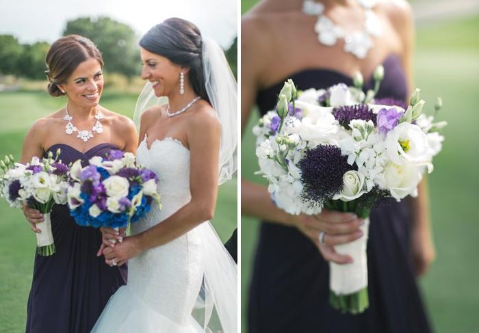 wedding flower ideas| purple flowers