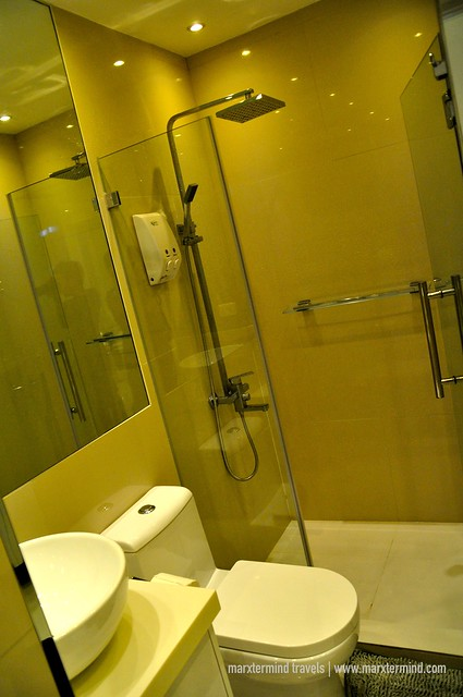 Bathroom at Alcoves 10 Makati