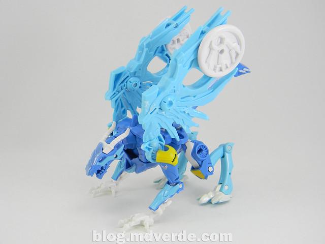Transformers Skystalker Deluxe - Transformers Prime Beast Hunters - modo bestia