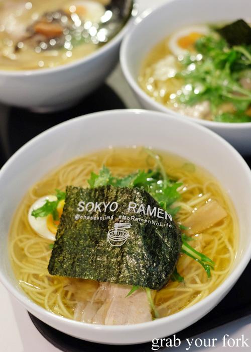 Yuzu shio ramen at Sokyo Ramen by Chase Kojima at The Star