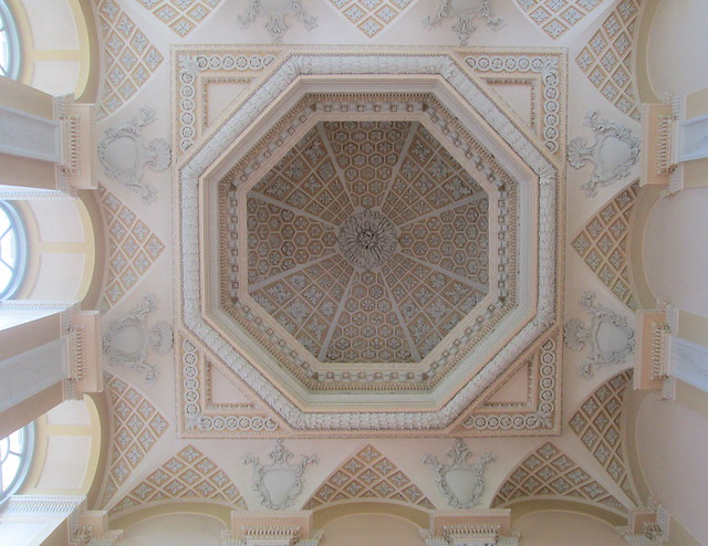 Blenheim Palace ceiling