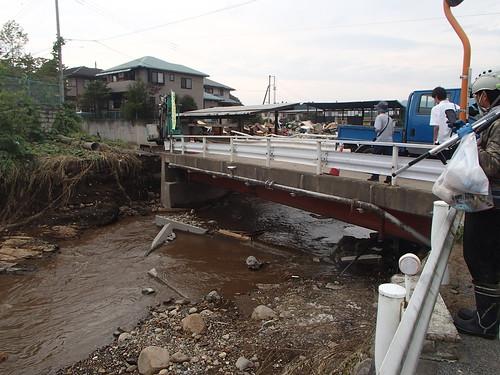栃木県鹿沼市で水害ボランティア(関東・東北豪雨 2015年9月)