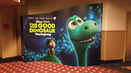 The Good Dinosaur Movie Standee