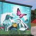 Graffiti på bondgården/Graffiti on the farm by Klas-Goran Photo