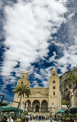 Dramatic sky in Cefalù...