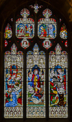 Gloucester Cathedral, window n.VI