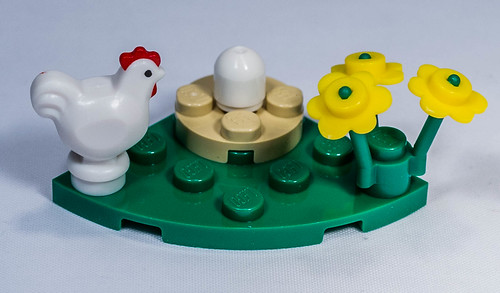 REVIEW LEGO 40121 - Seasonal - Painting Easter Eggs
