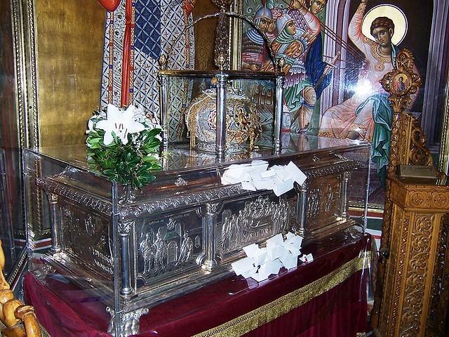 Sfintele Moaste ale Sfantului Mare Mucenic Dimitrios
