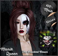 MANIK QUEEN - The Cracked Clown