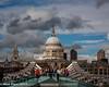 St Paul's from Millennium Bridge