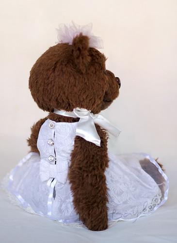 Big teddy bear Brownie ~36 cm.