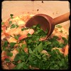 #Homemade #Shrimp, Mushroom & Sundried Tomato Sauce #CucinaDelloZio -  fresh parsley