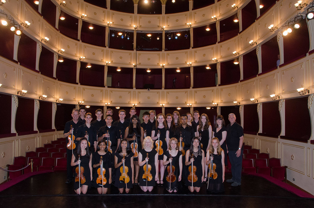 Chicago Consort in the Apollon Theatre in Syros, Greece