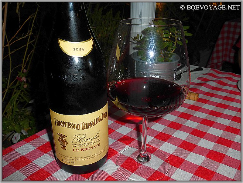 Francesco Rinaldi Le Brunate Barolo 2004 ב- סרדיניה