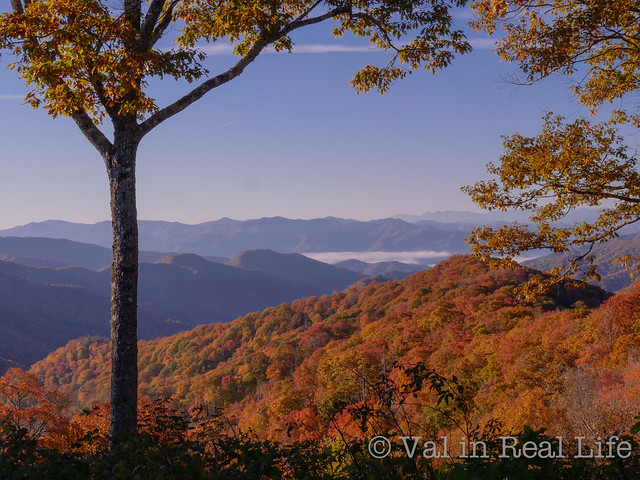 great smoky mountains - val in real life