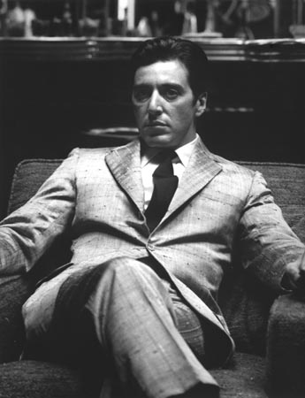 Al Pacino crossed legs