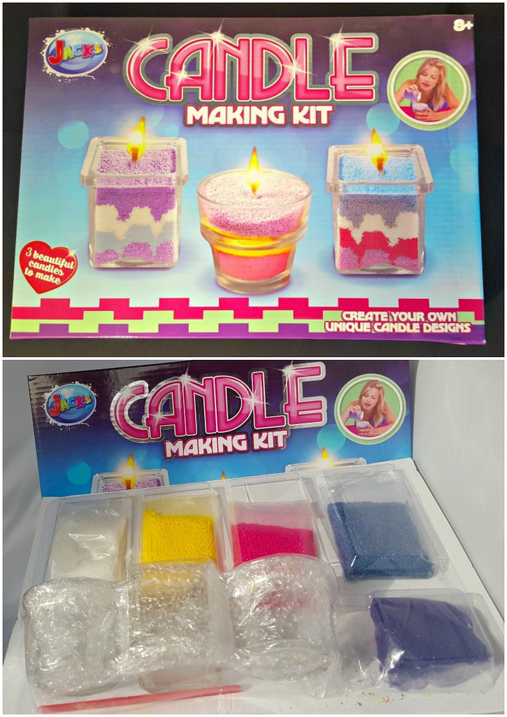 Candle Making Kit Collage