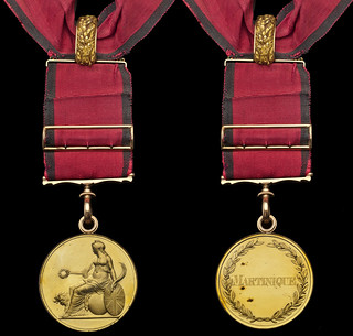 Lot 116 Army Large Gold Medal to Lieutenant General Sir George Prevost