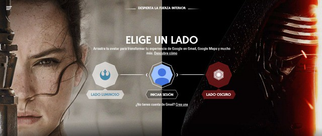 Star Wars llega a Google