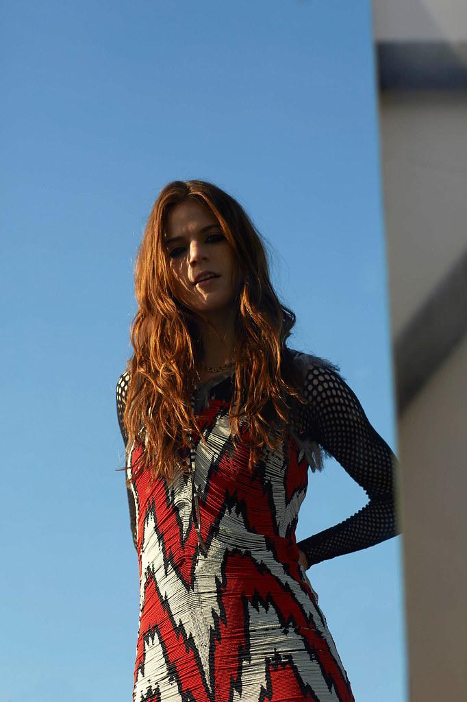 Роуз Лесли — Фотосессия для «InStyle» UK 2015 – 11