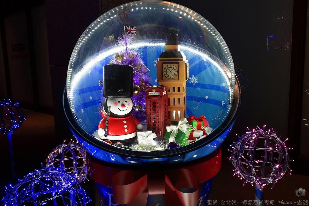 2015.11.28~聖誕~台北統一阪急百貨夜拍