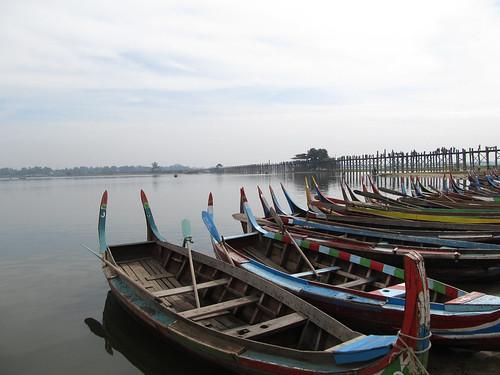 Amarapura: lac Taugthaman