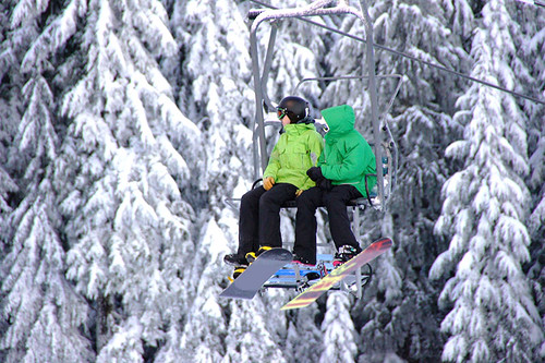 Whistler Blackcomb Ski Resort, Whistler BC, British Columbia.