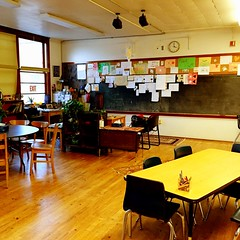 Daneah\'s classroom is giving me elementary school deja vu!